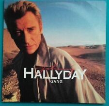 DISQUE VINYLE 33 TOURS JOHNNY HALLYDAY GANG 1986