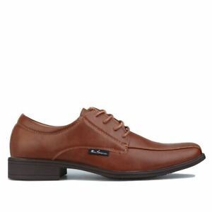 Men's Ben Sherman Dudley Lace up Chisel Toe Shoes in Brown