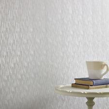 Superfresco Silken Stria Silver Metallic Mist Plain Wallpaper