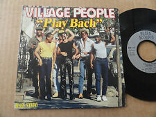 "DISQUE 45T DE VILLAGE PEOPLE  "" PLAY BACH """