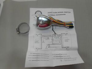 chrome turn signal switch vintage car turn signal switch directional switch
