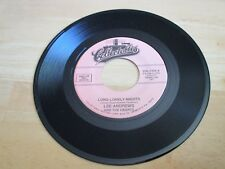 LEE ANDREWS AND THE HEARTS - LONG LONELY NIGHTS   B/W - THE CLOCK   VG++