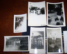 Rare Vintage Photographs Circa 1950 Lot Cool Ghostly Exposure Artistic Photos
