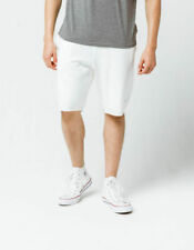 Champion Life Men Reverse Weave Cut Off  Shorts Fleece Heavy White Sz M,L,XL,XXL