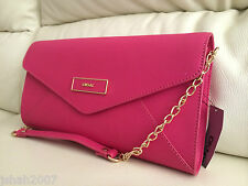 DKNY Pink Womens Hand Bag Purse Saffiano Leather NEW **LOOK**