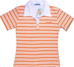 Sexy Ladies Tokyo Style Stripe T-Shirt 10-12 Polo Sexy Womens tshirt Medium New