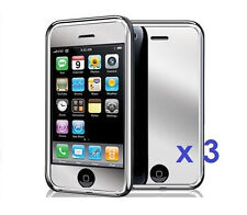 3 x New Mirror Reflect Screen Protector for Apple iPhone 3G / 3GS