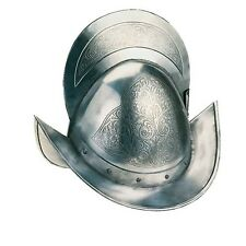 Engraved Spanish Round Morion Helmet by Marto of Toledo Spain 921S