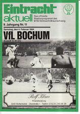 BL 83/84 Eintracht Braunschweig - VfL Bochum