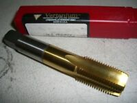 new VERTANIUM 1/2 - 14 NPSC 4FL TiN Extra Length Pipe VERMONT Tap & Die Co.
