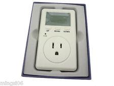 misol / USA Plug Ammeter Energy Power Watt Voltage Volt Meter Monitor Analyzer