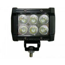 "3"" LED HID Light Bar Euro Spot Flood 12 or 24 volts 6000K Warranty Offroad"