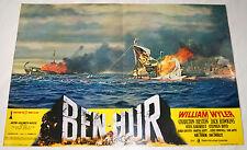 fotobusta originale BEN-HUR Charlton Heston Stephen Boyd 1969 #1