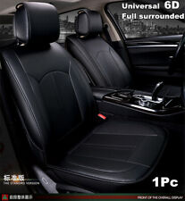 6D Full Surrounded Car Seat Mat Covers PU Leather Breathable Cushion Pad Set