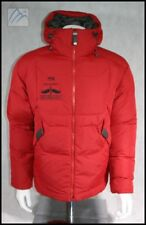 CUSTOM SALOMON SKI GOOSE DOWN INSULATED JACKET MENS S BIRDS OF PREY BEAVER CREEK