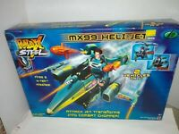 Max Steel MX99 Heli Jet Transforms Into Combat Chopper 2001