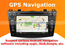 Android In Dash DVD GPS WIFI 3G for Mazda 3 2010-2012 - Quad Core 1024x600