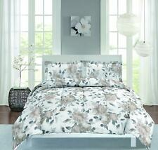 2 Piece Layla Comforter Set Twin Size (Taupe)