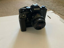 Ricoh Xr1000S 35mm Slr Film Camera With 2 Lenses, Pistol Grip & Filters