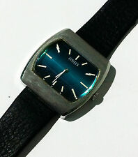 Genuine Vintage Citizen Stainless Steel Mechanical Wind up Analog 17 Jewels