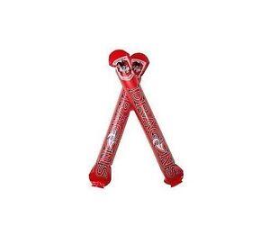 Official NRL St George Dragons Thunder Sticks (2 Pack)