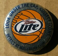 MILLER LITE MILLER BREWING CO OBSOLETE NO DENTS CRAFT BEER BOTTLE CAP