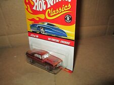 Hot Wheels CLASSIC '69 Pontiac Firebird spectraflame ORANGE chrome 1:64 1969 #23