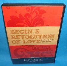 JOYCE MEYER BEGIN A REVOLUTION OF LOVE CD USED