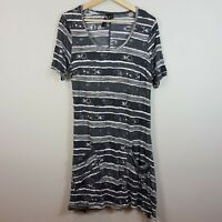 [ TS TAKING SHAPE ] Womens S/S Print Tunic Top | Size XS or AU 14