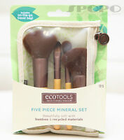 EcoTools Mineral Bamboo Makeup Brush Set (Earth Friendly) 100% Authentic #1213