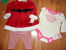 girls 0 - 3 months ~ holiday outfit & one-piece bodysuit Mommy's favorite