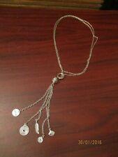 Ladies Cluster Pendant Necklace