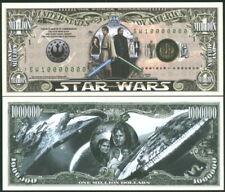 STAR WARS COMMEM. BILL + EARTH OCCUPATION CURRENCY ALIENS FANTASY ART NOTES NEW!