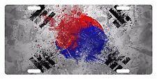 SOUTH KOREA  FLAG Custom License Plate East Asia Emblem Paint   Version