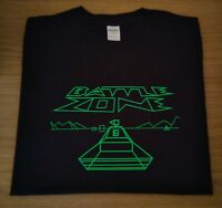 RETRO GAMERS BLACK T SHIRT BATTLE ZONE DESIGN 2 S M L XL XXL BattleZone Atari