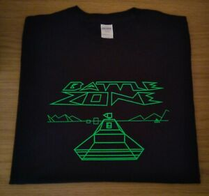 RETRO GAMERS BLACK T SHIRT BATTLE ZONE DESIGN 2  M L XL XXL BattleZone Atari