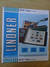 10 Blatt Lindner T Blanko 4er neu 802402 (4997)