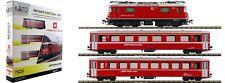 SET TREN RhB Ge4/4-II 632 Zizers + EW I Rhätische Bahn MARCA KATO ESCALA  N