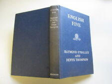 Acceptable - English Five - Raymond o Malley and Denys Thompson 1966-01-01   Hei