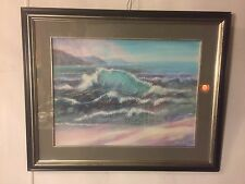 """Painting Original Acrylic On Paper Signed """"Batsell Moore"""".C12pix4Size.MAKE OFFER"""