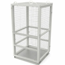 Gas Bottle Cage with Gate 750 Kg Capacity - In Stock Brisbane