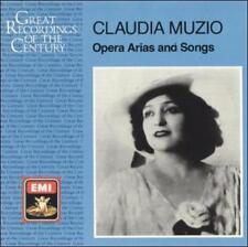 Claudia Muzio: Opera Arias and Songs by Claudia Muzi...