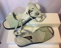 Hush Puppies Open Toe Women's Sandals Size 7M US Sage