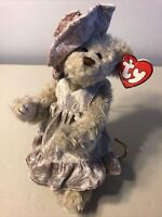 """TY Attic Treasure Collection """"Darlene"""" the Bear MWMT Jointed Beanie Baby Gift"""