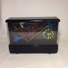 Nuon Clock Super Hero Neon Black Light (For Parts)