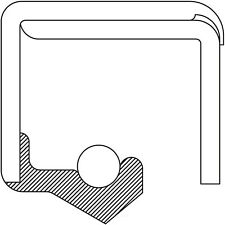 Wheel Seal National 455860
