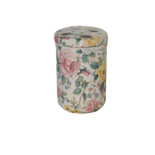 Toothbrush Holder Floral Exclusive Design By Crownford Giftware Made in England