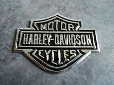 New Harley Davidson 3D Chrome Emblem Badge Logo Decal 1200 Race Car Sticker