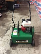 New Billy Goat Power Rake Pr 550H 5Hp Honda Engine Convertible to Overseeder