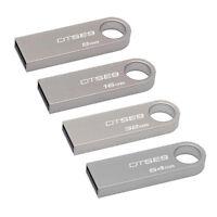 Kingston 8GB 16GB 32GB 64GB SE9 USB Flash Pen Drive lot Memory Stick Key Thumb